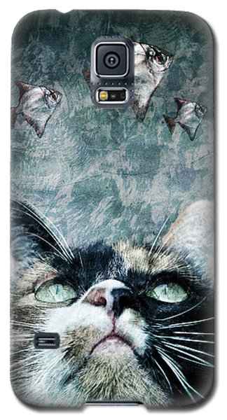 Abyss Cat Nr 2 Galaxy S5 Case by Laura Melis