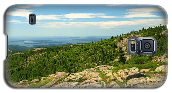 Galaxy S5 Case featuring the photograph Acadia Maine by Raymond Earley