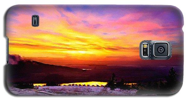 Acadia National Park Cadillac Mountain Sunrise Forsale Galaxy S5 Case