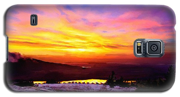 Acadia National Park Cadillac Mountain Sunrise Forsale Galaxy S5 Case