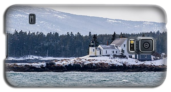 Acadia National Park Schoodic Lighthouse Galaxy S5 Case