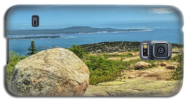 Galaxy S5 Case featuring the photograph Acadia Park by Raymond Earley