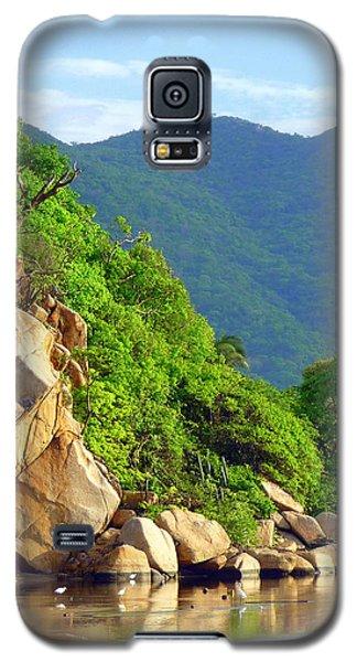 Acapulco Lagoon Galaxy S5 Case