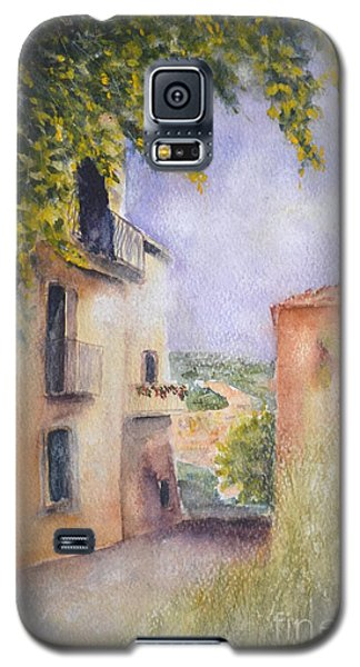 Galaxy S5 Case featuring the painting Accadia by Kathleen Pio