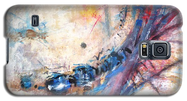 Galaxy S5 Case featuring the painting Accident by John Fish