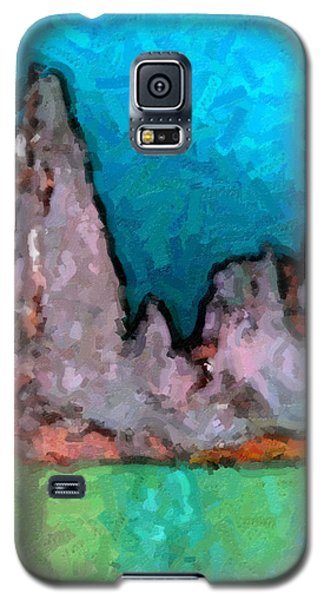 Acid Lake Galaxy S5 Case