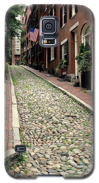 Acorn Street Boston Galaxy S5 Case