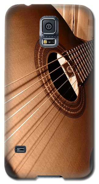 Acoustic Guitar Galaxy S5 Case by Ester  Rogers