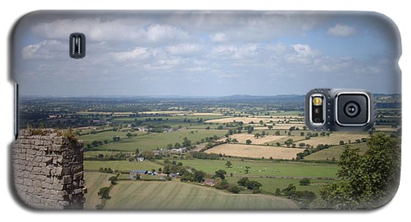 Across Cheshire From Beeston Castle England Galaxy S5 Case