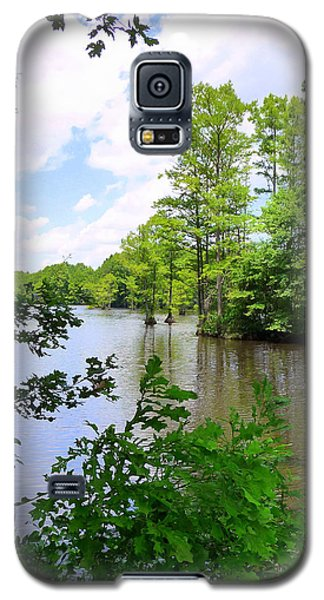 Galaxy S5 Case featuring the photograph Across Crystal Lake by Jim Whalen
