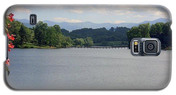 Galaxy S5 Case featuring the photograph Across Lake Junaluska by Paula Tohline Calhoun