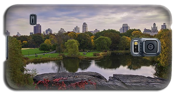 Across The Pond 2 - Central Park - Nyc Galaxy S5 Case by Madeline Ellis