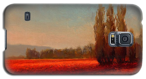 Across The Tulip Field - Horizontal Landscape Galaxy S5 Case