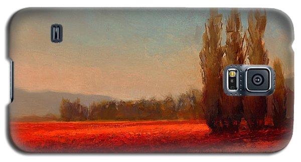Across The Tulip Field - Horizontal Landscape Galaxy S5 Case