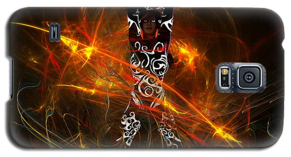 Galaxy S5 Case featuring the digital art Activated... by Tim Fillingim