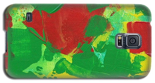 Galaxy S5 Case featuring the painting Active Pursuit C2013 by Paul Ashby