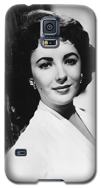 Actress Elizabeth Taylor Galaxy S5 Case
