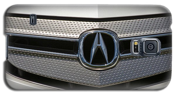 Acura Grill Emblem Close Up Galaxy S5 Case by David Zanzinger