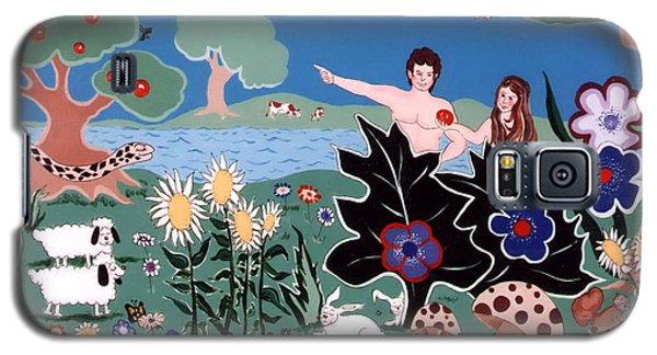 Adam And Eve Galaxy S5 Case by Joyce Gebauer