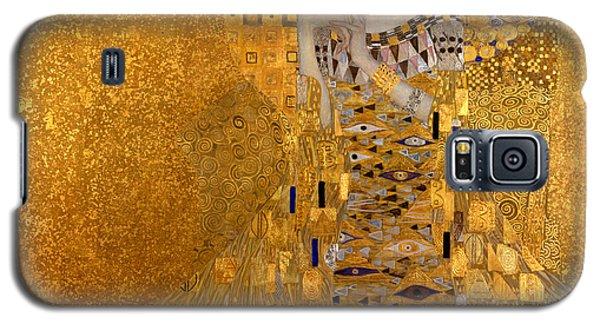 Adele Galaxy S5 Case - Adele Bloch Bauers Portrait by Gustive Klimt