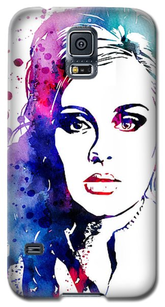 Adele Galaxy S5 Case by Watercolor Girl