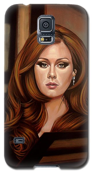 Rhythm And Blues Galaxy S5 Case - Adele by Paul Meijering
