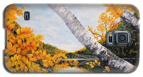 Adirondacks New York Galaxy S5 Case by Holly Carmichael