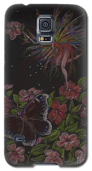Galaxy S5 Case featuring the drawing Admiration by Dawn Fairies