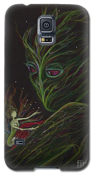 Galaxy S5 Case featuring the drawing Admire Your Markings by Dawn Fairies