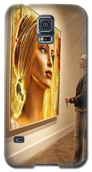 Admiring Beauty Galaxy S5 Case