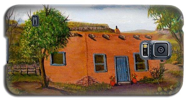 Adobe On The Prairie Galaxy S5 Case by Sheri Keith