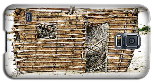 Galaxy S5 Case featuring the photograph Adobe Shack 1 by Lin Haring