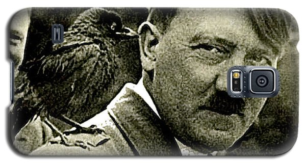 Adolf Hitler And A Feathered Friend C.1941-2008 Galaxy S5 Case by David Lee Guss
