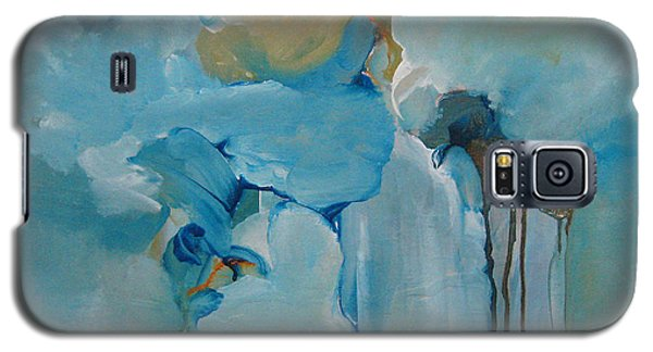 Galaxy S5 Case featuring the painting aDrift I by Elis Cooke