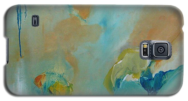 Galaxy S5 Case featuring the painting aDrift II by Elis Cooke