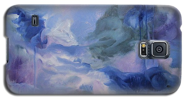 Galaxy S5 Case featuring the painting aDrift IX by Elis Cooke