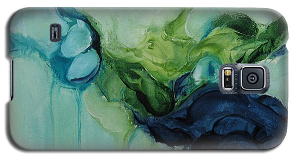 Galaxy S5 Case featuring the painting aDrift VII by Elis Cooke