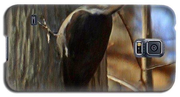 Adult Male Pileated Woodpecker Galaxy S5 Case