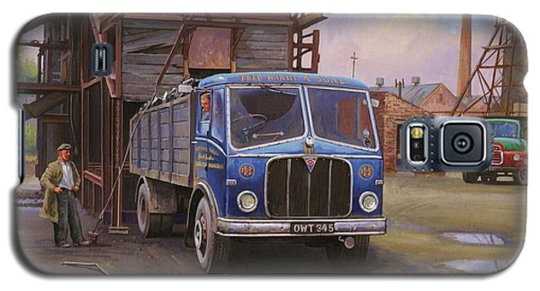 Aec Mercury Tipper. Galaxy S5 Case by Mike  Jeffries