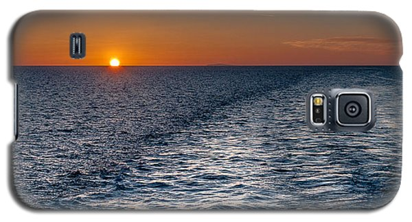 Galaxy S5 Case featuring the photograph Aegean Sea Early In The Morning by Sergey Simanovsky