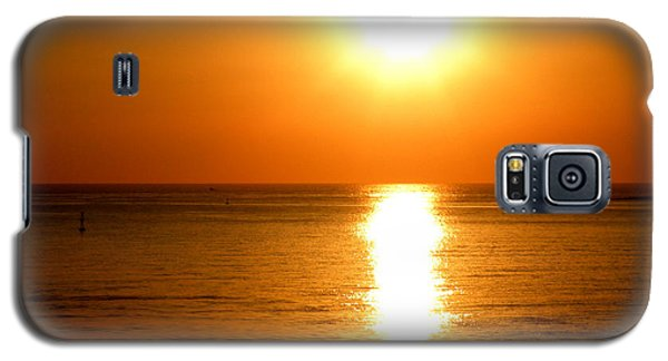 Galaxy S5 Case featuring the photograph Aegean Sunset by Micki Findlay
