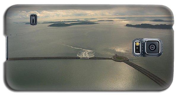 Aerial Causeway Galaxy S5 Case by Deborah Smolinske