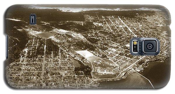 Aerial  Of Monterey Calif. Oct. 25 1934 Galaxy S5 Case