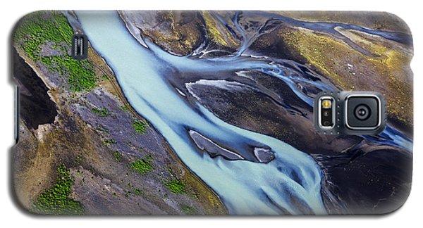 Aerial Photo Of Iceland  Galaxy S5 Case by Gunnar Orn Arnason
