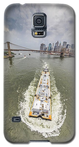 Aerial View - The Barge At The East River Galaxy S5 Case