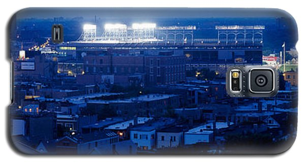 Aerial View Of A City, Wrigley Field Galaxy S5 Case by Panoramic Images