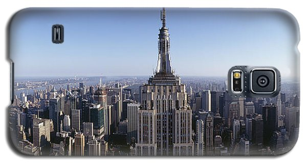 Aerial View Of A Cityscape, Empire Galaxy S5 Case by Panoramic Images