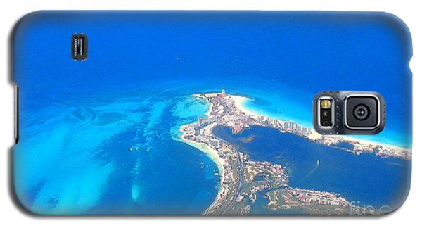 Aerial View Of Cancun Galaxy S5 Case by Patti Whitten