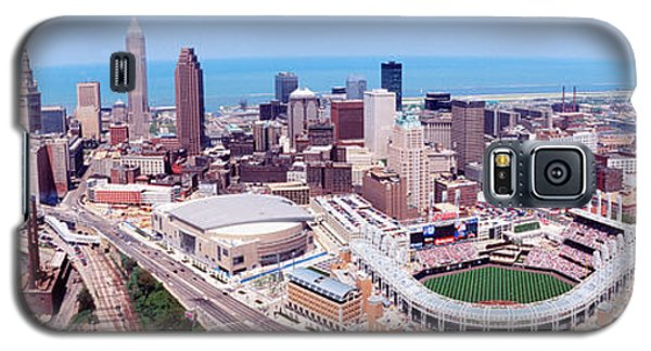 Aerial View Of Jacobs Field, Cleveland Galaxy S5 Case