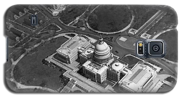 Aerial View Of U.s. Capitol Galaxy S5 Case by Underwood Archives